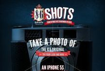 """8.6 SHOTS PHOTO CONTEST / From October 14th to November 4th, 2013, try to win an iPhone 5S  by playing the 8.6 Shots photo contest ! Send us your best pictures of an 8.6 Original can and share your pictures with your friends to get a lot of votes and be the winner! Keep posted on https://www.facebook.com/86bavaria"""" You must be of legal drinking age to follow the board."""