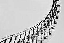 Domečky, schodiště