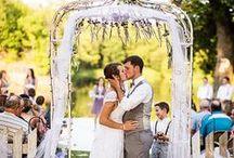 Benny and Regan's wedding
