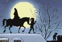 Sinterklaas / Alles wat te maken heeft met het traditionele kinder- (gezins-)feest Sinterklaas