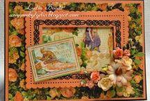 Tattered Lace kaarten / Hier vind je kaarten gemaakt met de stansen van Tattered Lace