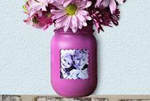 Mason Jar Ideas / Mason Jar Ideas, Projects and DIY Mason Jar Crafts DYI