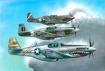 Marking P-51 Mustang
