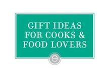Gift Ideas for Chefs & Food Lovers / Here are some ideas for gifts for a special someone in your life who might just seem impossible to shop for.