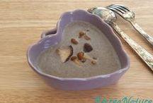 Soupes et gazpachos / Recettes de soupes froides et chaudes à cuisiner à base de légumes du jardin ou non traités, de préférence !