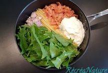 Pâtes, riz et gnocchis / Recettes de cuisine à base de pâtes, riz et gnocchis