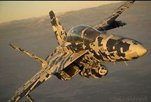 Marking FA-18 Hornet