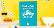 Anniversaire Super Héros / Pour que votre enfant passe un anniversaire incroyablement fun ! -> Découvrez notre kit en collaboration avec la super maison d'édition Minus ici : http://bit.ly/2bOpnPl