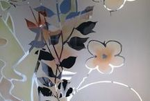 Simona's painted glass / painted glass