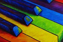 Music - Keyboards / All things keyboards. Unique designs, old organs etc etc etc! / by Peggy Gilchrist