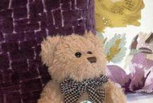 """Rufus at Rufflets / Rufus is the """"do not disturb"""" bear at Rufflets."""