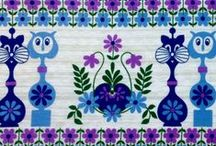Vintage fabric / Dekoplus