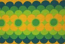 Vintage fabric misc.