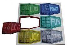Magnete von Werkhaus / Einfach heraustrennen und Lospinnen - liebevoll gestaltet, schön anzusehen und anzufassen und natürlich aus ökologisch einwandfreien Materialien