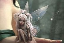 Fairies and fairytales / My obsession for fairies, angels and unicorns :)