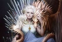 Game of thrones / My favourite is Daenerys Stormborn of the House Targaryen, the First of Her Name, the Unburnt, Queen of Meereen, Queen of the Andals and the Rhoynar and the First Men, Khaleesi of the Great Grass Sea, Breaker of Chains, and Mother of Dragons.
