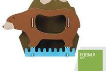Design for Kids! / Unsere schönsten Stifteboxen, Vierbeiner-Hocker und Pixie-Sammler für die Kleinen! Tiere, Autos und lustige Motive.