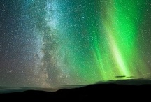 Northern Lights / Stars, planets, space and galaxy. / by Yoshimoto Yamaha