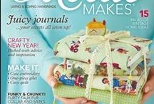 Foreign magazines! / Tijdschriften waar ik blij van wordt: Mollie Makes, Living Crafts, Isabella's, Lev Landlig...