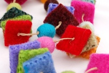 felted wool / felted wool with children
