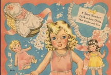 Paper Dolls of the 1940's & 1950's + ? / There are also a few paperdolls that are from the 1960's or ? / by Jane Morrison