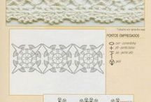 crochet edgings and borders