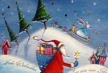 Illustrators:  Christmas Magic! / Illustrators and their wonderful Christmas artwork. / by Patricia Parden