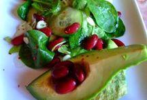 SALATE / retete de salate cu legume sau carne, raw vegan sau de post