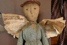Little Angels Cloth Dolls / by Jane Morrison