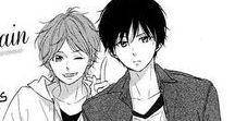 anime boys monochrome