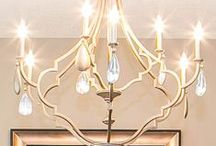 Lighting / Ambient, task, and accent lighting found in chandeliers, wall scones, and ceilings.