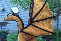 Funny and cute ideas knit/crochet