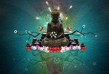 Illustrations zen / Quelques tableaux ou dessins pour favoriser la détente