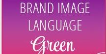 // Green // Brand Image Language / The color green means so many things depending on where you come from.