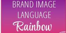 // Rainbow // Brand Image Language