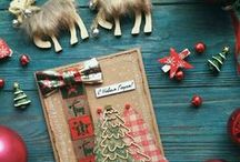 Cards. Christmas / Сardmaking. Scrapbooking. cards