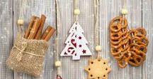 Home decor / Ideas for decoration.  Christmas wreaths. Ideas for inspiration.