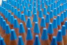 colours - blue & aqua