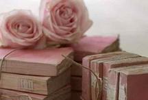 colours - powder & rose
