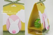 Easter Projects / www.barbstamps.com - Project ideas for Easter