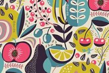 Fabric Inspirations / fabrics I like for home decorating purposes and for upholstery / by Honey Malek