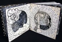 Book arts / Hand made books, altered books, paper cutting, book binding, book making, beautiful books. / by Janet H