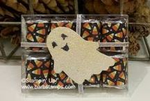 Halloween Crafts / www.barbstamps.com - Fun and easy project ideas for Halloween