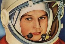 Cosmonaughty / The Russians cosmonauts were just as courageous as the  U.S. astronauts. / by Barry Ross Rinehart