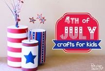Holiday   4th of July + Patriotic Ideas / Patriotic, USA, America decorations, projects, crafts and decor ideas for for the family and kids this 4th of July, Veterans Day, Memorial Day and any other patriotic gathering. If you are a blogger, please share your own posts on my Friday Flash Blog linky party at www.thejennyevolution.com. You may just get pinned! / by The Jenny Evolution