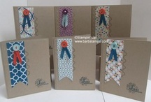 2013 Sale-a-bration / www.barbstamps.com - Project ideas using items from the 2013 Stampin' Up! Sale-a-bration Brochure