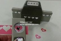 Punch Art and TIPS / www.barbstamps.com - Use Stampin' Up! punches to create simple and fun projects