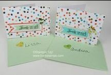 2014 Sale-a-bration / www.barbstamps.com - Projects using the items available in the 2014 Sale-a-bration Brochure