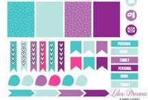 planner stickers - printables
