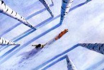 illustration - winter & christmas ❄